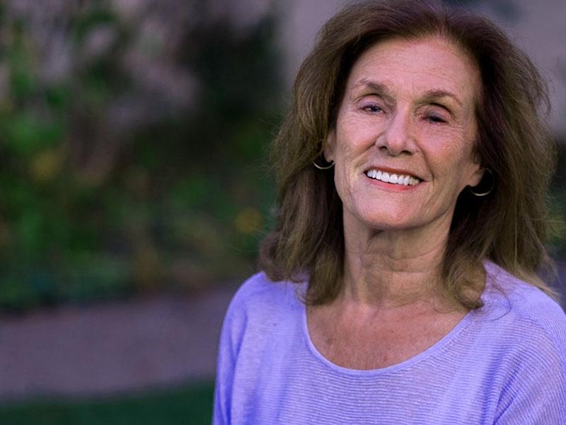She is Suzanne Braun Levine