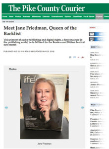 Pike County Courier - Jane Friedman