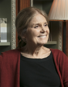 Gloria Steinem by Beowulf Sheehan
